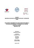 Seguimiento Indicadores Paternidad y Maternidad Sistema Escolar 2007